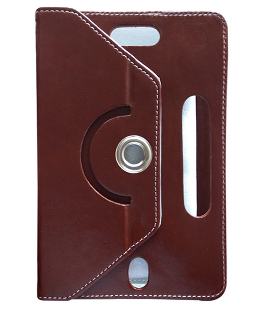 Fastway Flip Cover For Lenovo LePad S2007 - Brown