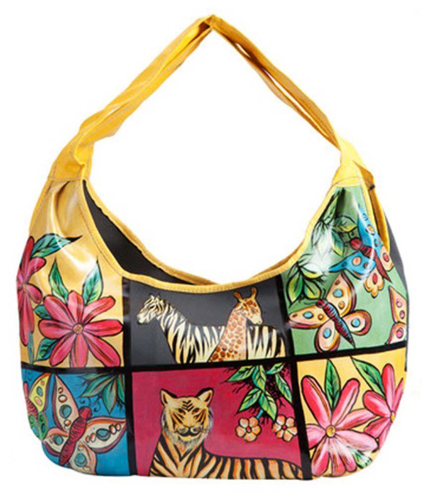 Frame Of Mind Circus Animals Handbag