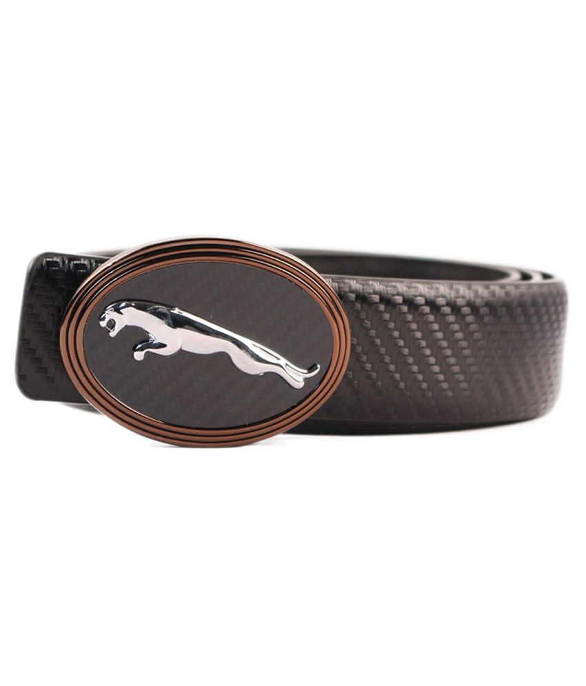 Heaven Deal Black Leather Formal Belt