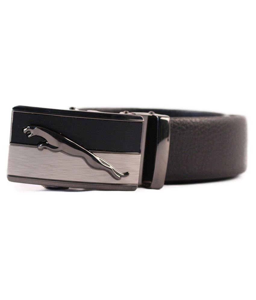 Heaven Deal Black Leather Formal Belt