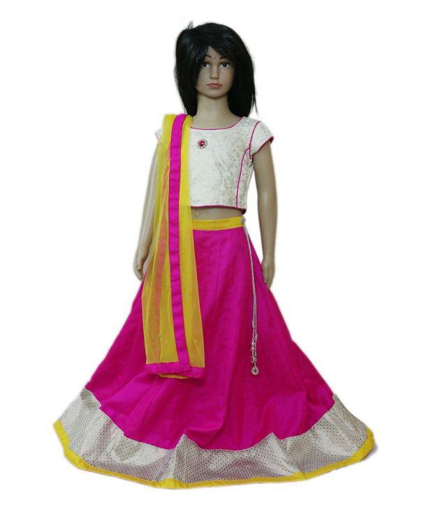 Dhaminis Fashion Imports And Exports Multicolour Net Lehanga Choli Buy Dhaminis Fashion