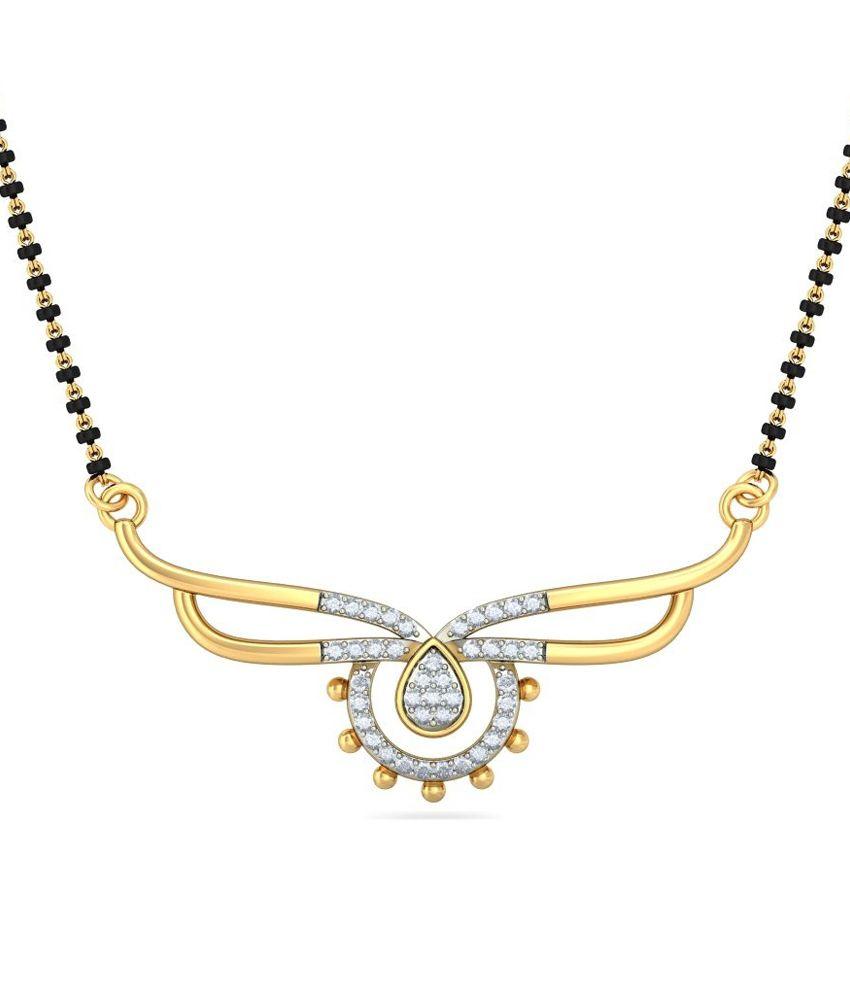 Bluestone 14kt Gold Mangalsutra Without Chain