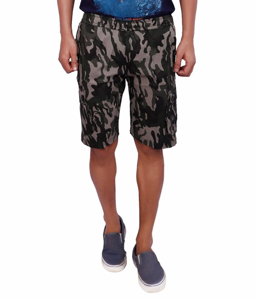 Shree Multicolour Cotton Printed Shorts Pack of 2