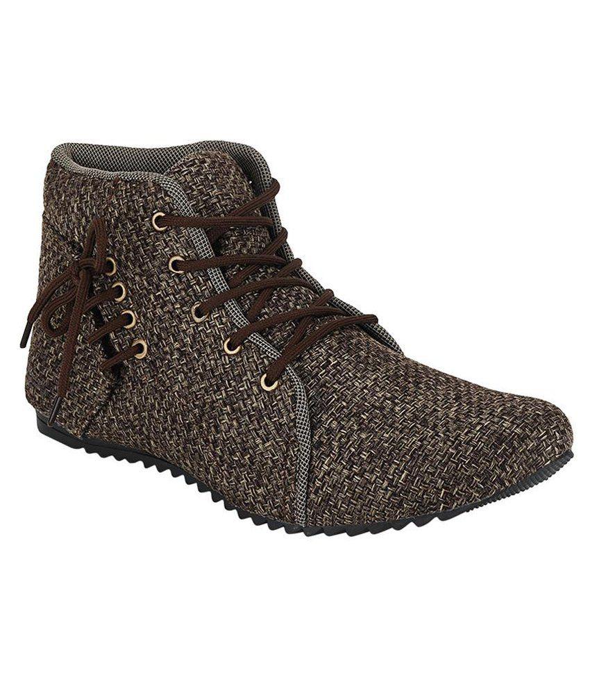 Kzaara Brown Boots