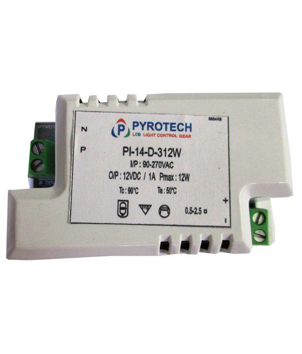 Pyrotech Constant Voltage Led Driver