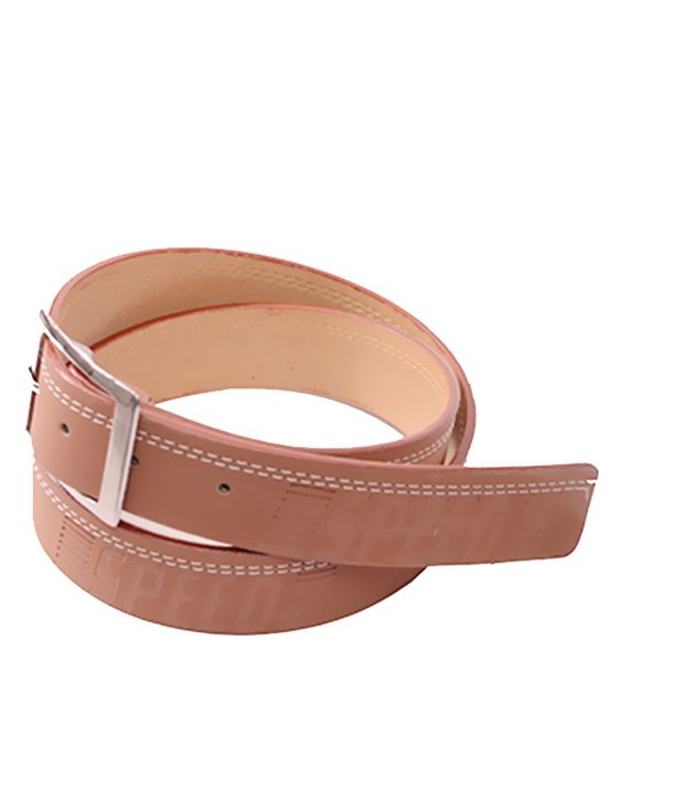 Aam Shopping Brown Casual Belt