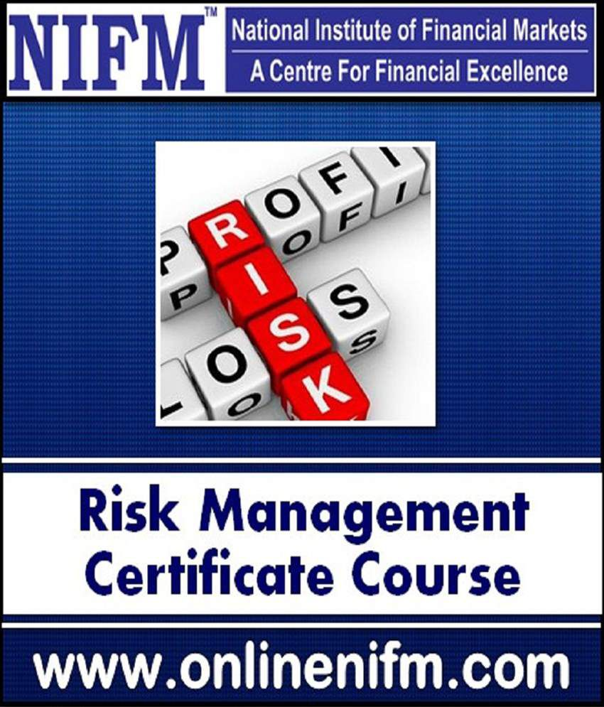 NIFM Online Course Risk Management in Broking House Certificate course in  Stock Market Risk Management Online Study Material