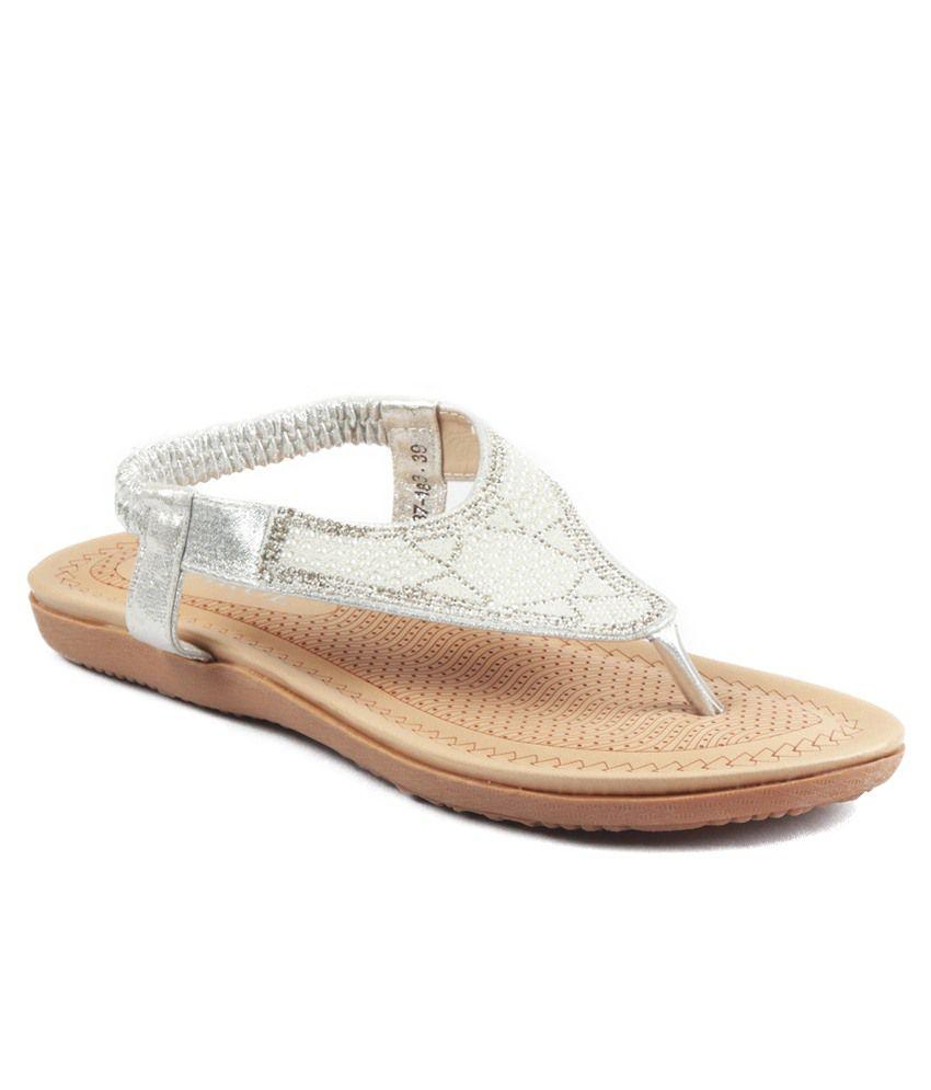 Heaven Deal Silver Sandals