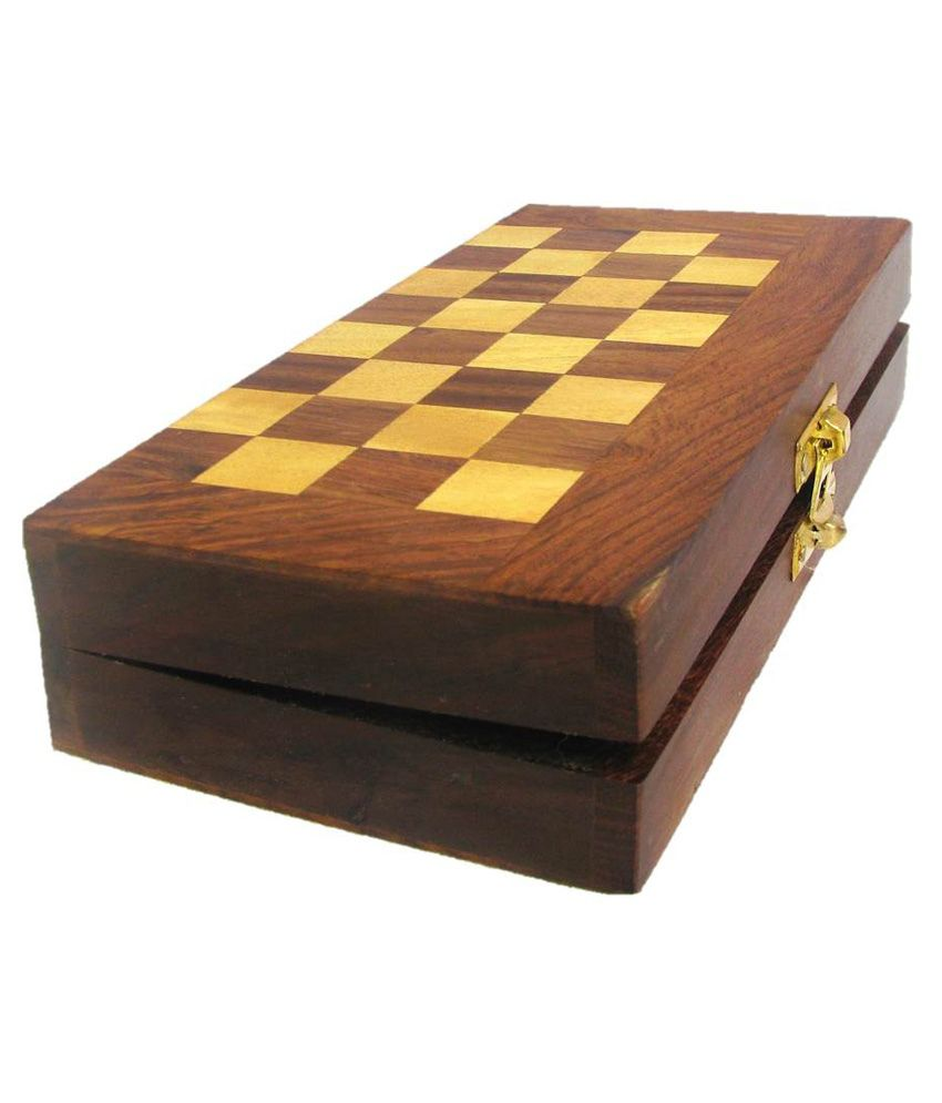 Toyzkart Multicolor Wooden Chess Board