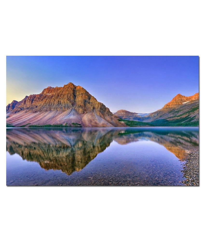 Anwesha's Water Active Wallpaper Poster 20 Inch X 30 Inch - Mountain Lakes Ml7