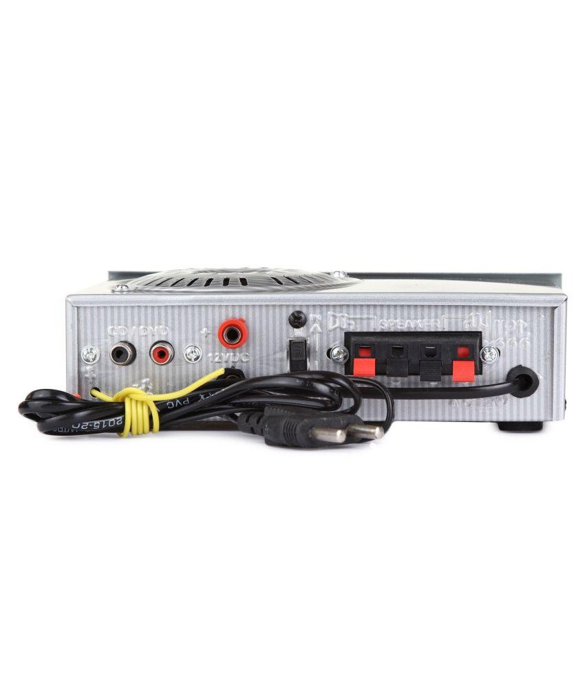 Bexton Modern MR Silver FM Radio Player