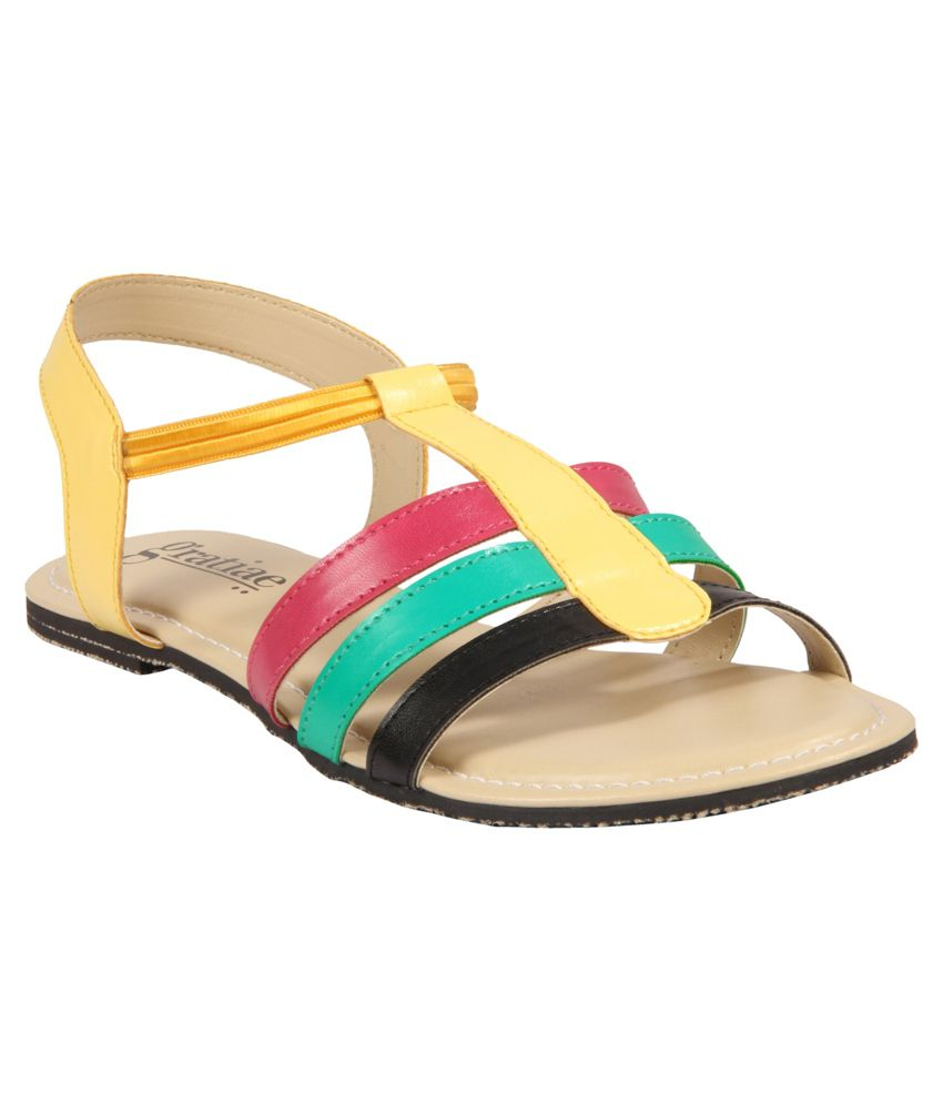 Gratiae Multicolour Sandals
