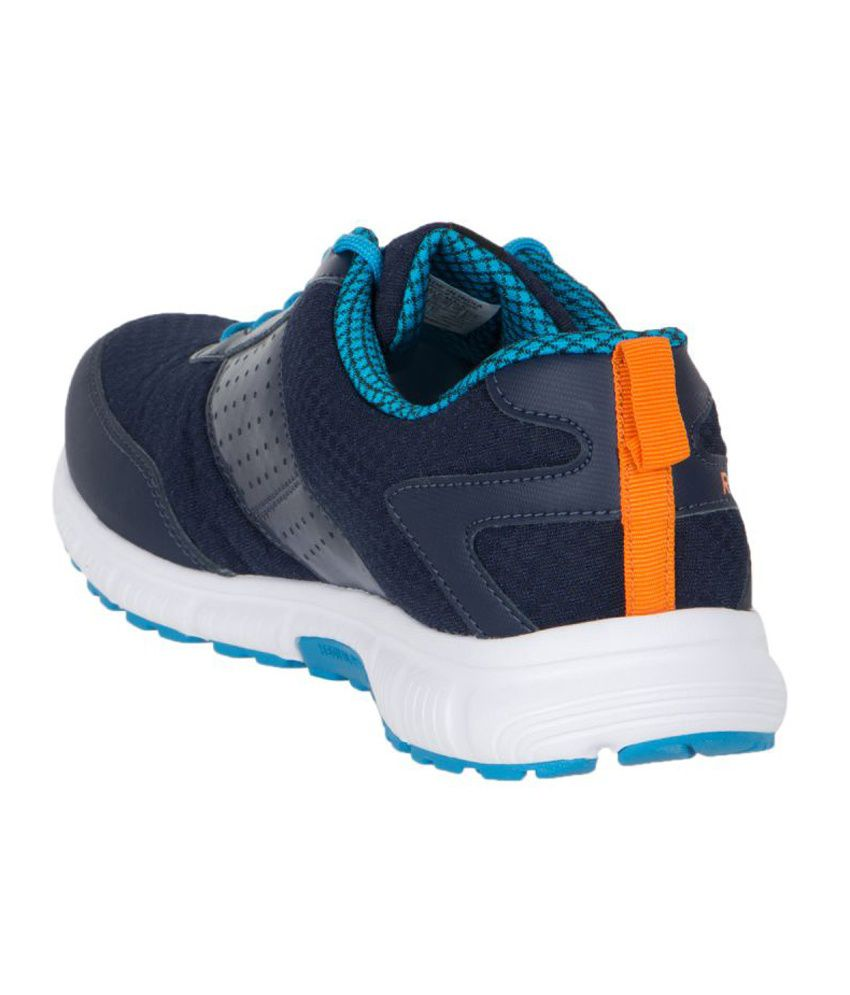 ... Reebok Combo Of Navy Sports Shoes With Watch e2e8269f1