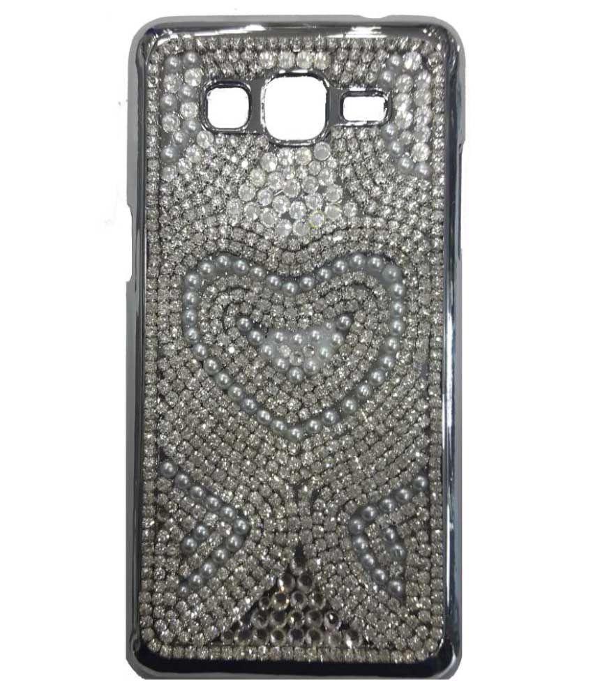 best service 590e7 026c9 Sei Hei Ki Back Cover For Samsung Grand Prime G530/G531 - Silver ...