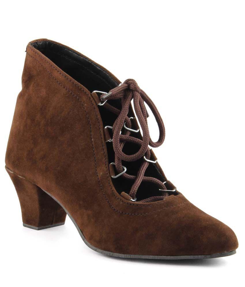 Cute Fashion Brown Boots