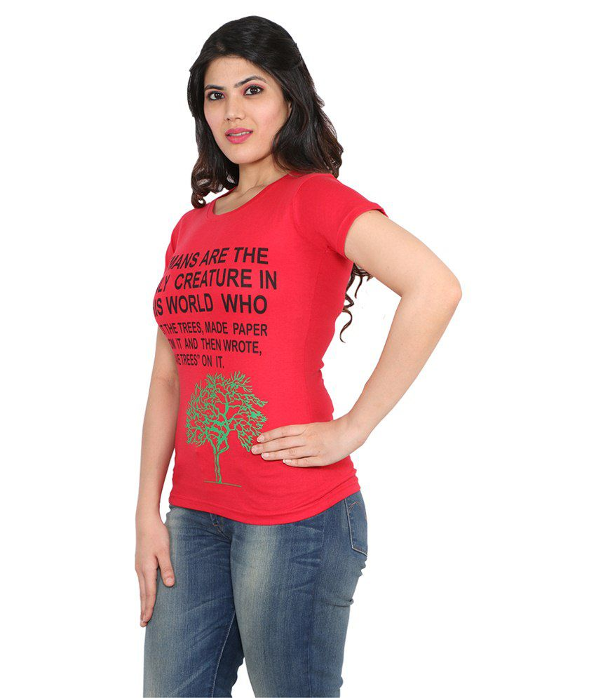 5885ae1fe8d Buy LOOX by apoorti Ladies T-Shirt - Pack of 5 Online at Best Prices ...