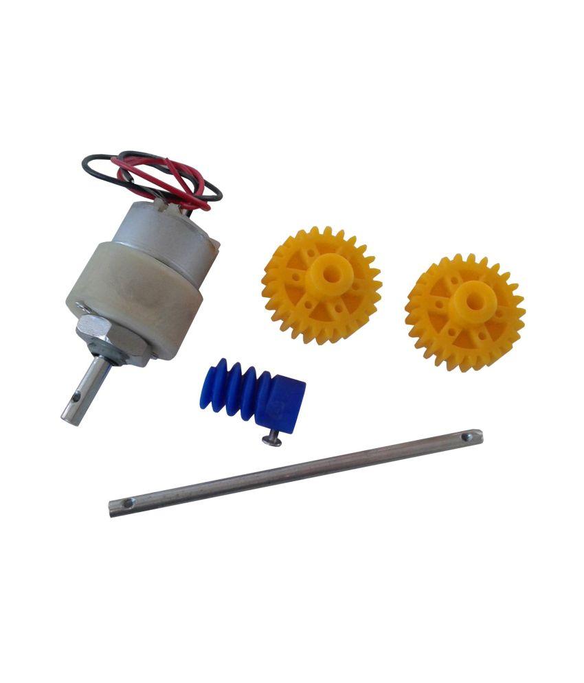 Project Maker Gear Motor Shaft Set Worm Drive Set Project Kit Robotics Gear  Motor Shaft