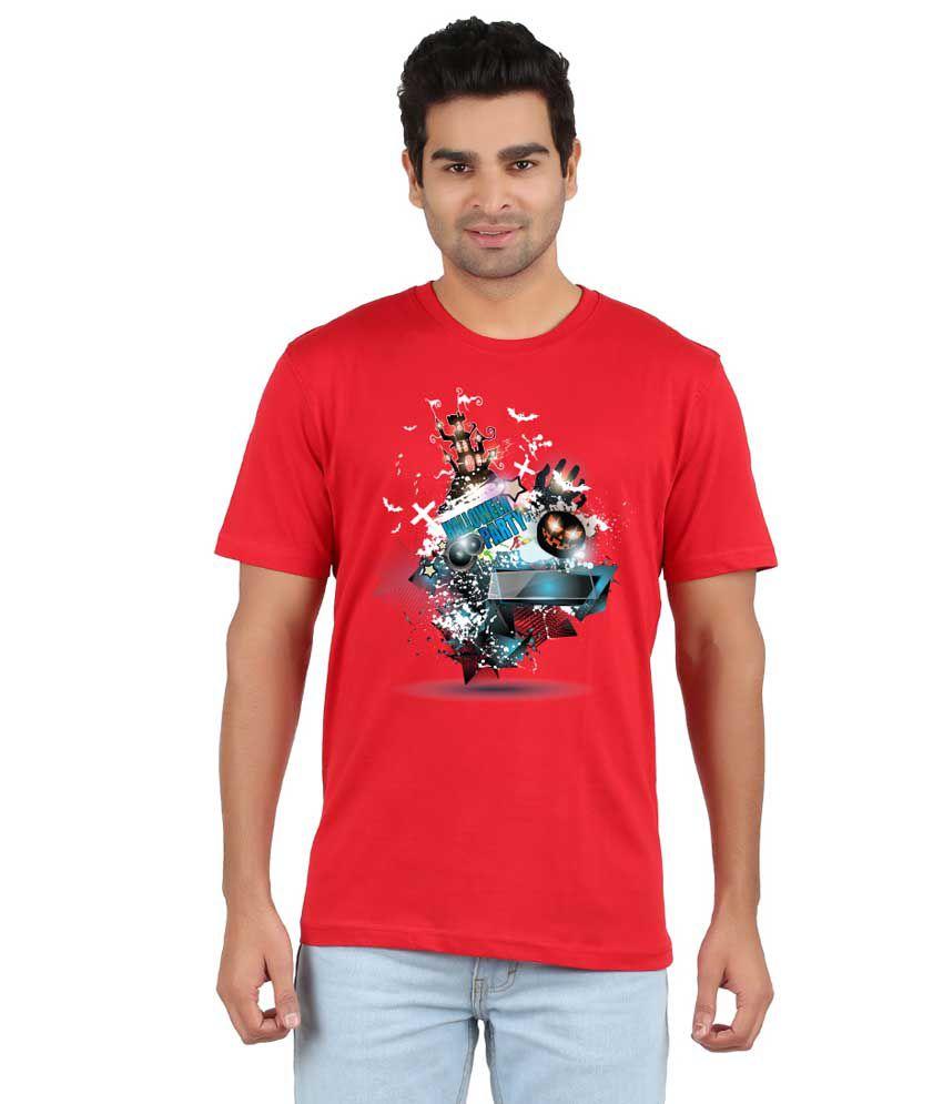 RVB Black Cotton T-Shirt