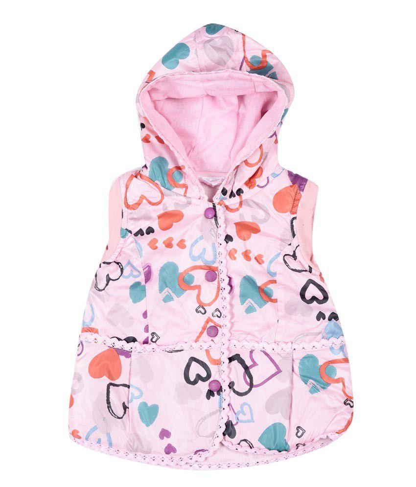 Peridot Pink Nylon Jacket