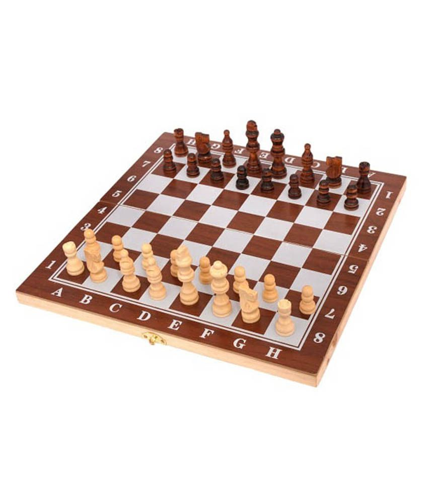 Metro Sports Wooden Chess Board Game