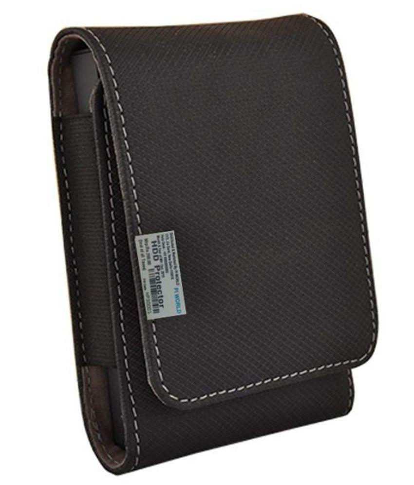 Pi World Hard Disk Wallet For Wd Elements 1 TB external Hard Drive - Black
