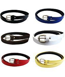Verceys Multi Leather Casual Belts