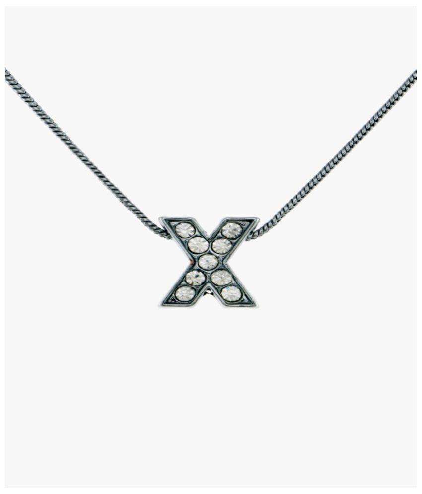 Krafftwork Silver Alloy Pendant