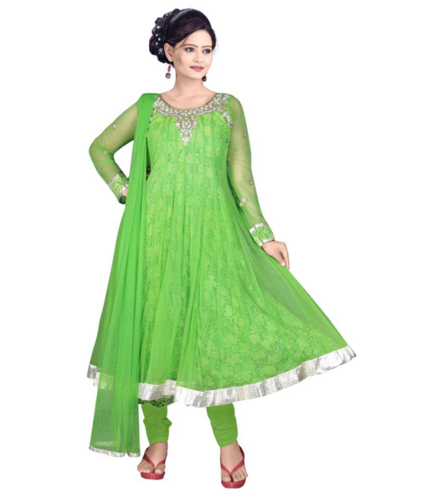 Anjan Light Green Net