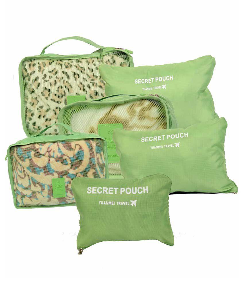 Enfin Homes Green Travel Kit - 6 Pcs