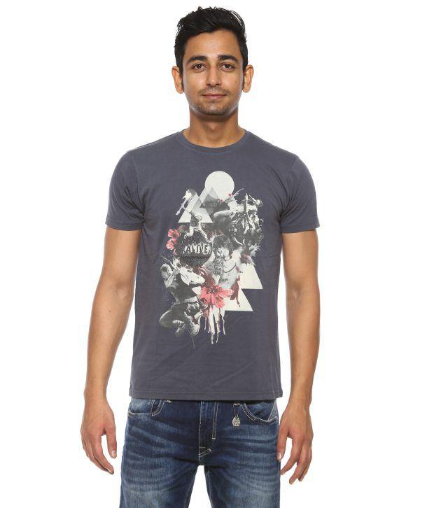Pepe Jeans Blue Cotton T-Shirt