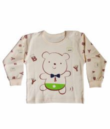 Upside Down Baby Clothes White Cotton T Shirt