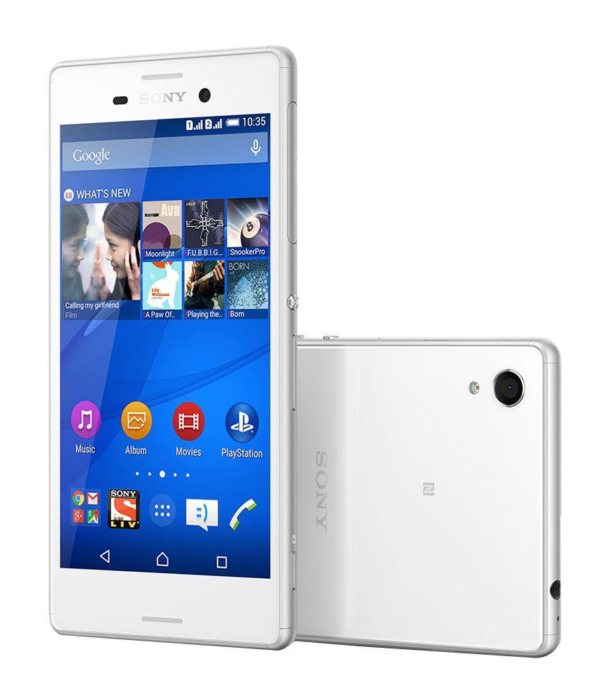 Sony Xperia M4 Aqua 16gb White Mobile Phones Online At Low Prices