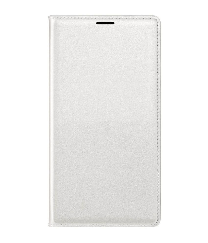 AravStore Flip Cover For Samsung Galaxy Grand I9082 - White With Card Reader