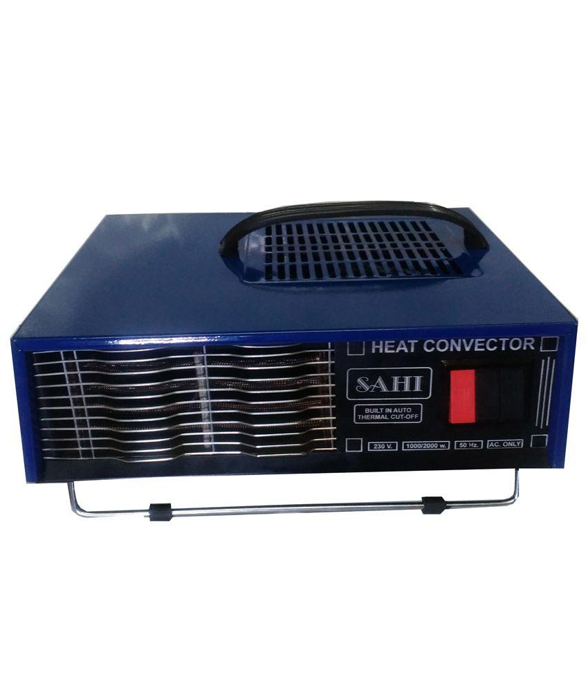 Sahi 2000 bt01 room heater blue buy sahi 2000 bt01 room heater blue online at best prices in - Small room space heater decor ...