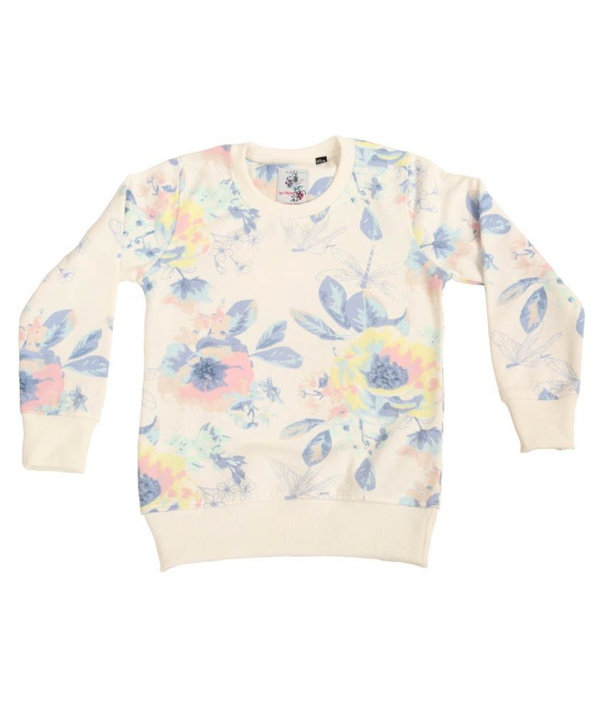 Sportking Printed Round Neck Sweatshirt