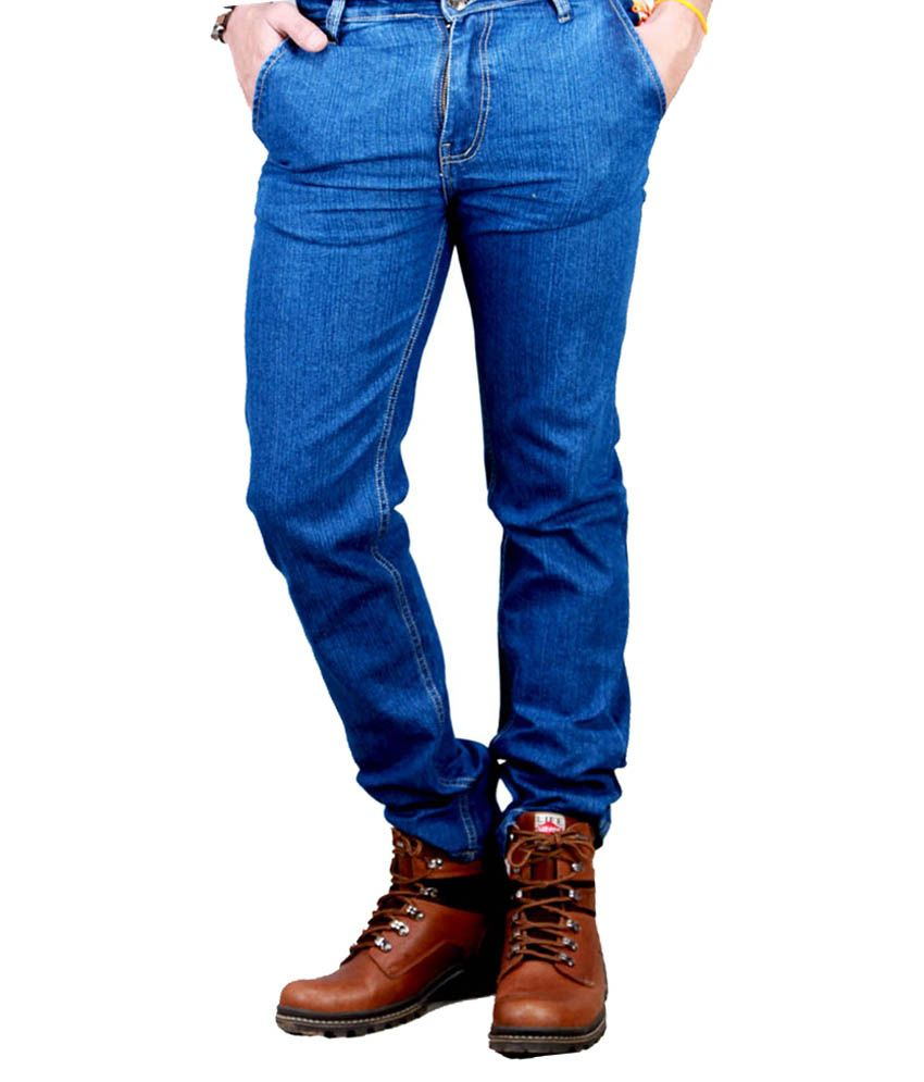 Western Texas 96 Blue Slim Fit Jeans