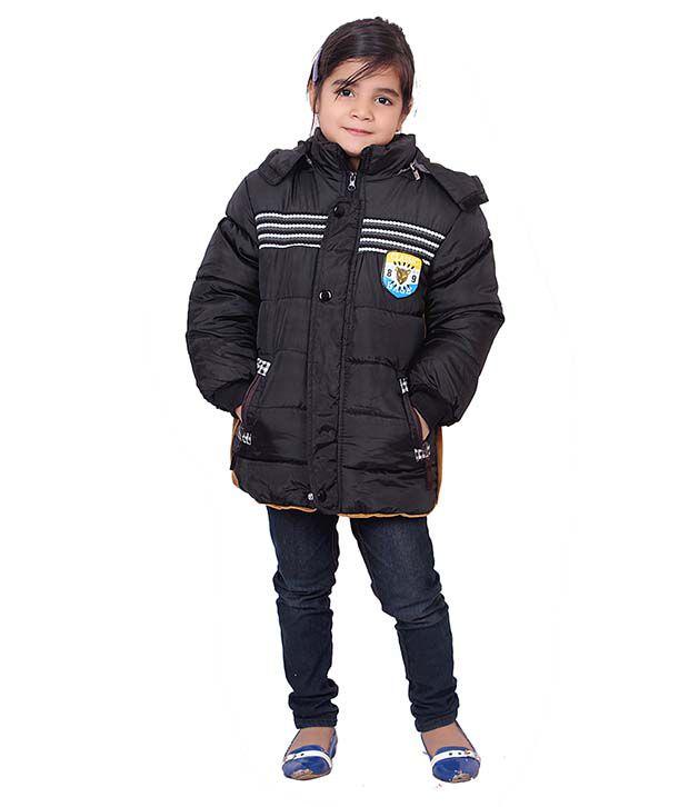 Sakhi Sang Black Full Sleeve Quilted Polyester Jackets