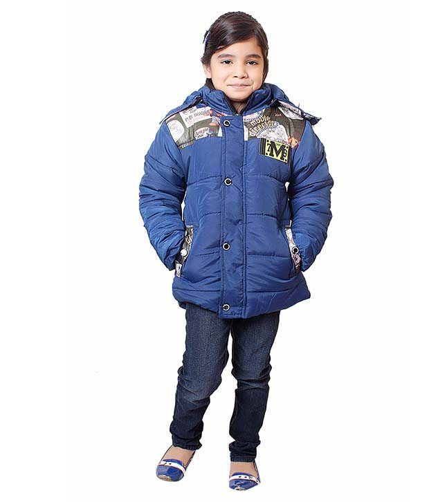 Sakhi Sang Blue Full Sleeve Quilted Polyester Jackets