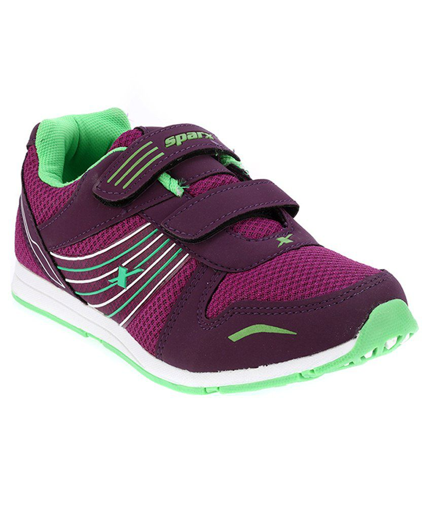 Sparx Maroon Running Shoes