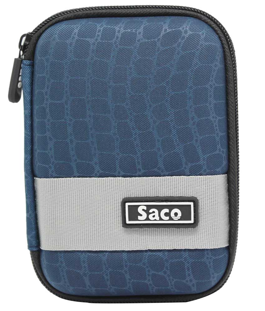 Saco External Hardisk Hard Cover For Wd My Passport Ultra 1tb Portable Drive