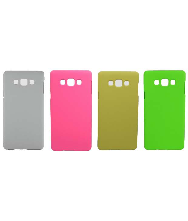 Toppings Back Cover For Samsung Galaxy J1Ace - Multicolour (Pack Of 4)