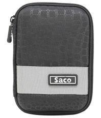 Saco External Hardisk Hard Case For Transcend Storejet 1TB Portable USB 3.0 Hard Disk - Black
