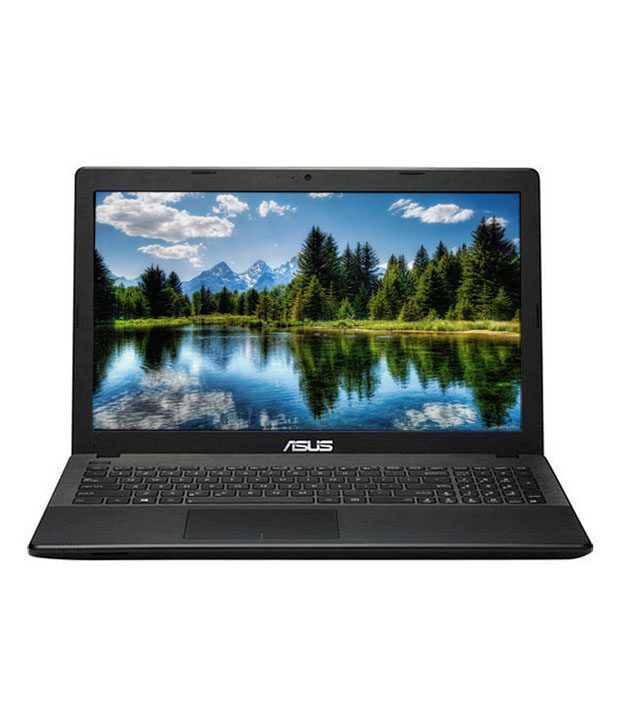 ASUS X553MA-SX858D Notebook (Intel Celeron- 2 GB RAM- 500 GB HDD- 39.62 cm (15.6)- DOS) (Black)