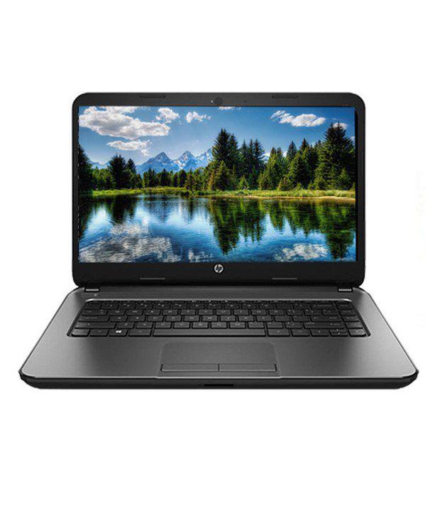 HP 240G3 Notebook (N5Q04PA) (Intel Pentium- 2 GB RAM- 500 GB HDD- 35.56 cm (14)- DOS) (Black)