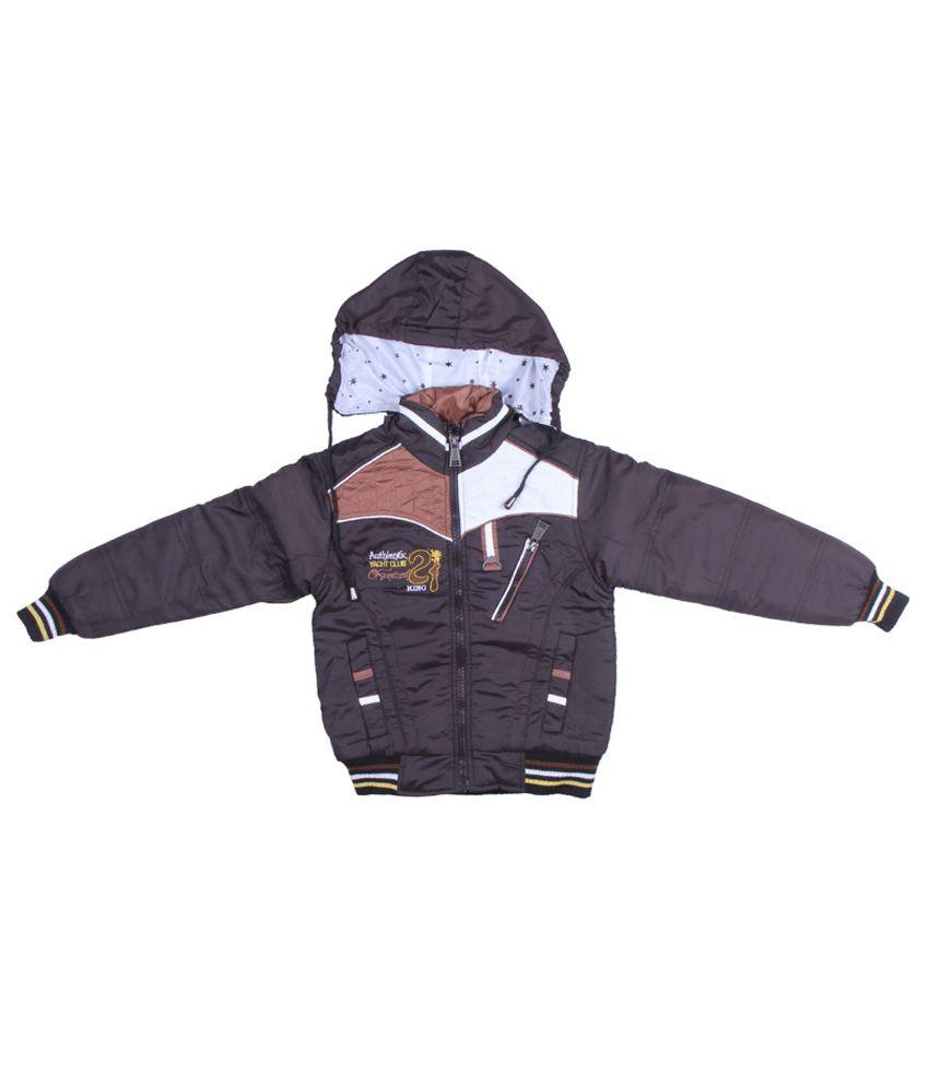 ADI & ADI Black Padded Jacket With Hood