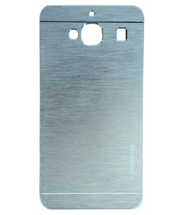 quality design 36161 d69a6 Motomo Aluminium Brushed Back Cover For Xiaomi Redmi 2 And Redmi 2S - Silver