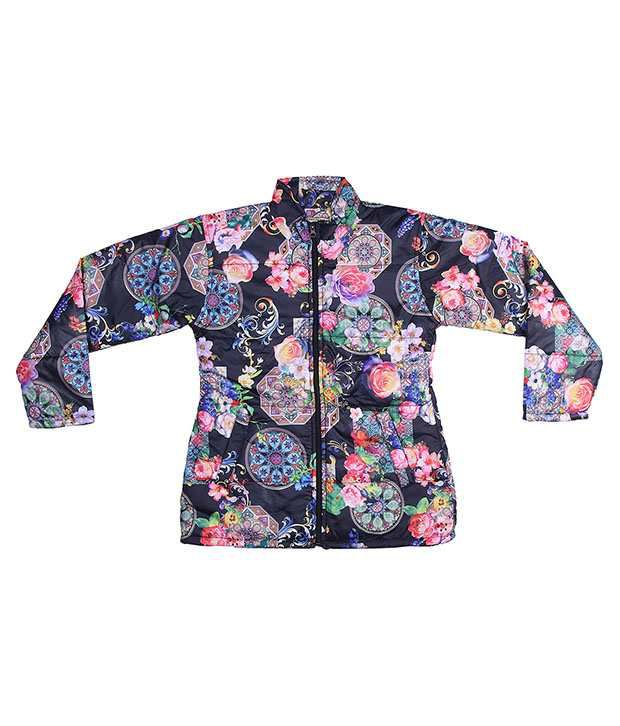 Adi & Adi Multicolor Padded Jacket For Girls