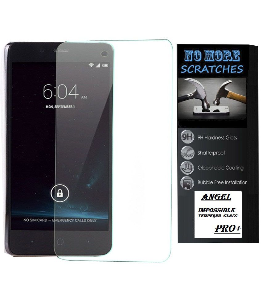 Angel Tempered Glass Screen Guard For Samsung Galaxy S Duos S7562