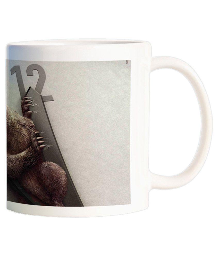 Funturoo Multicolour Printed Coffee Mug
