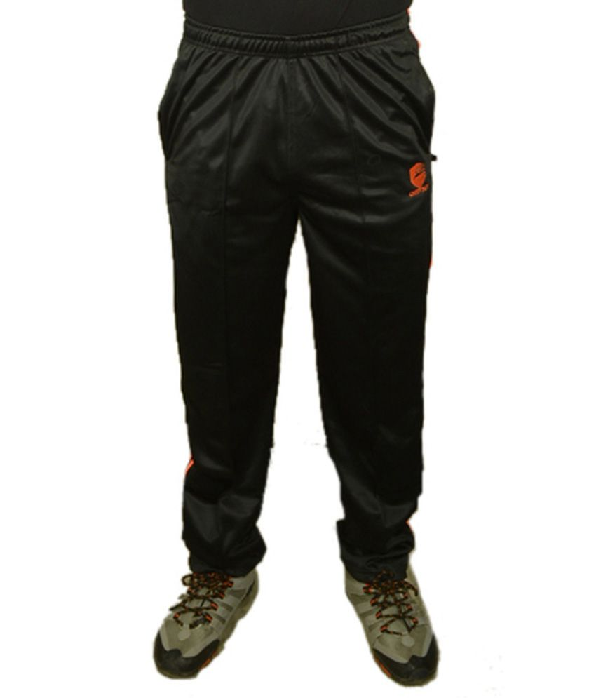 Osprey Trackpant Black Polyester Trackpants